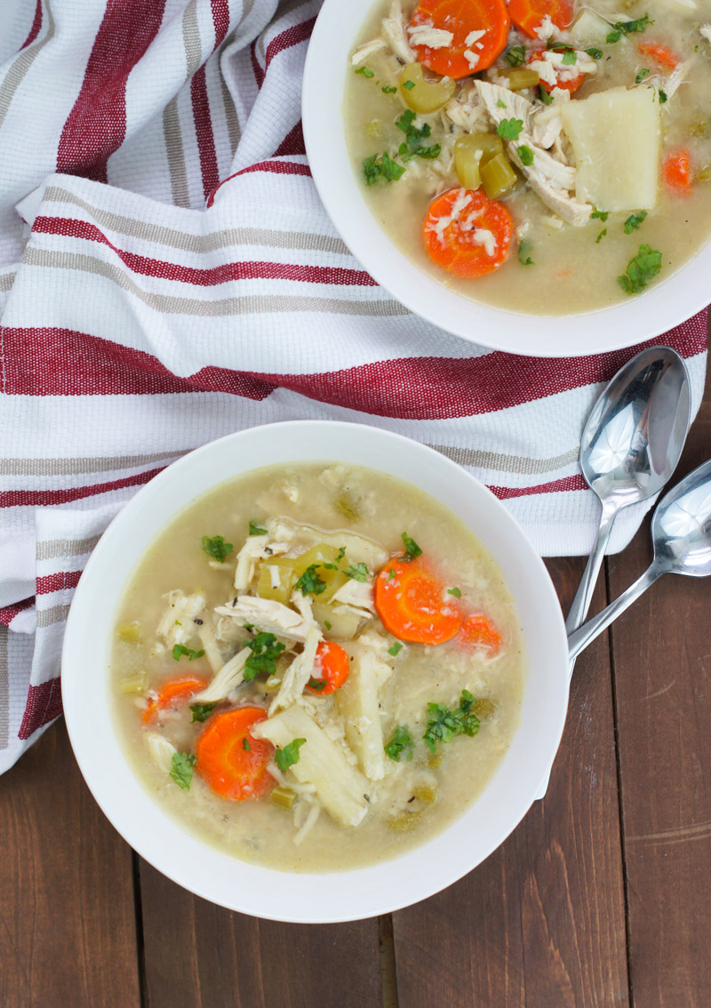 Share This Link Copy Slow Cooker Chicken Soup