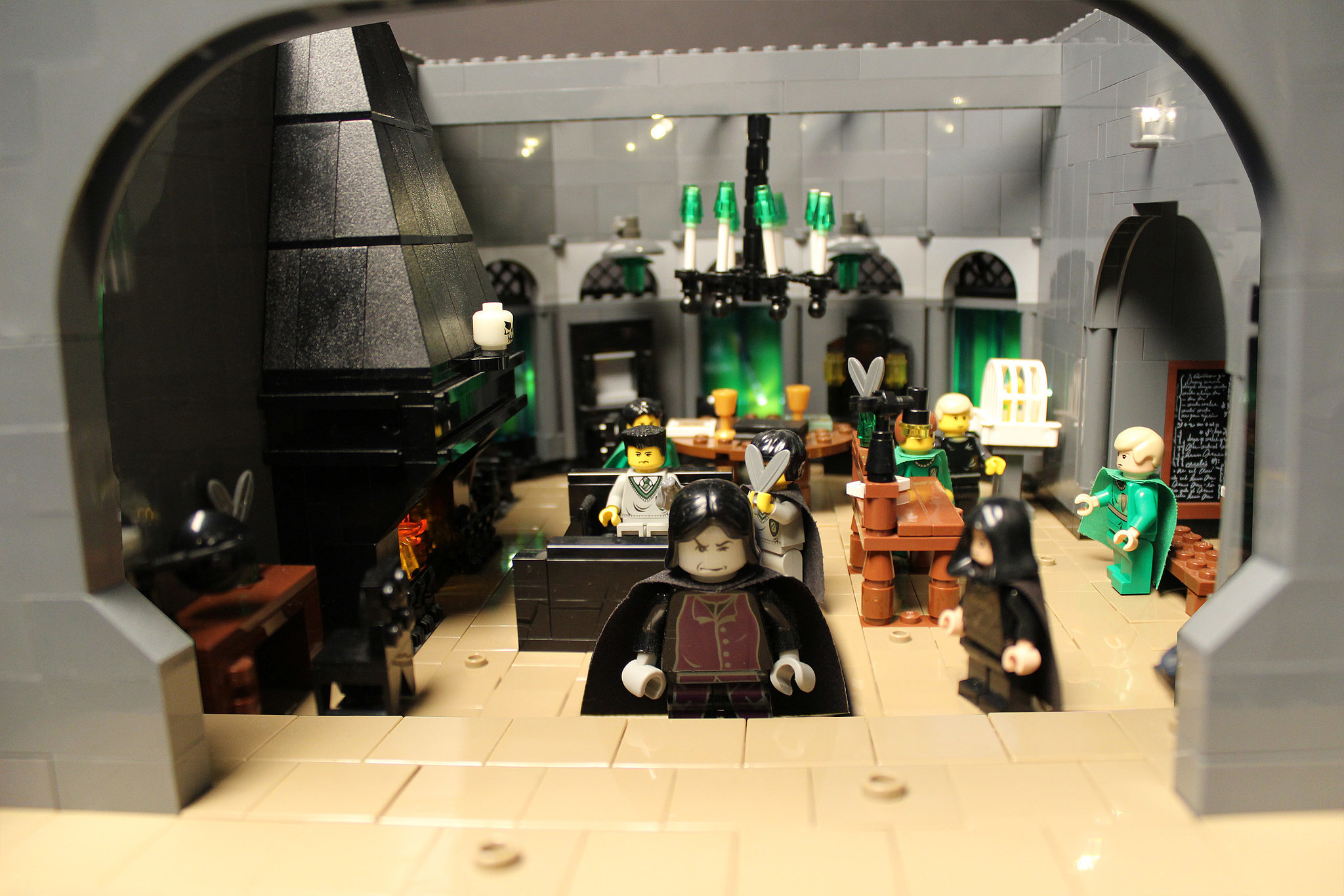 Snape's Classroom   A Supermom Created This 400,000-Piece ...