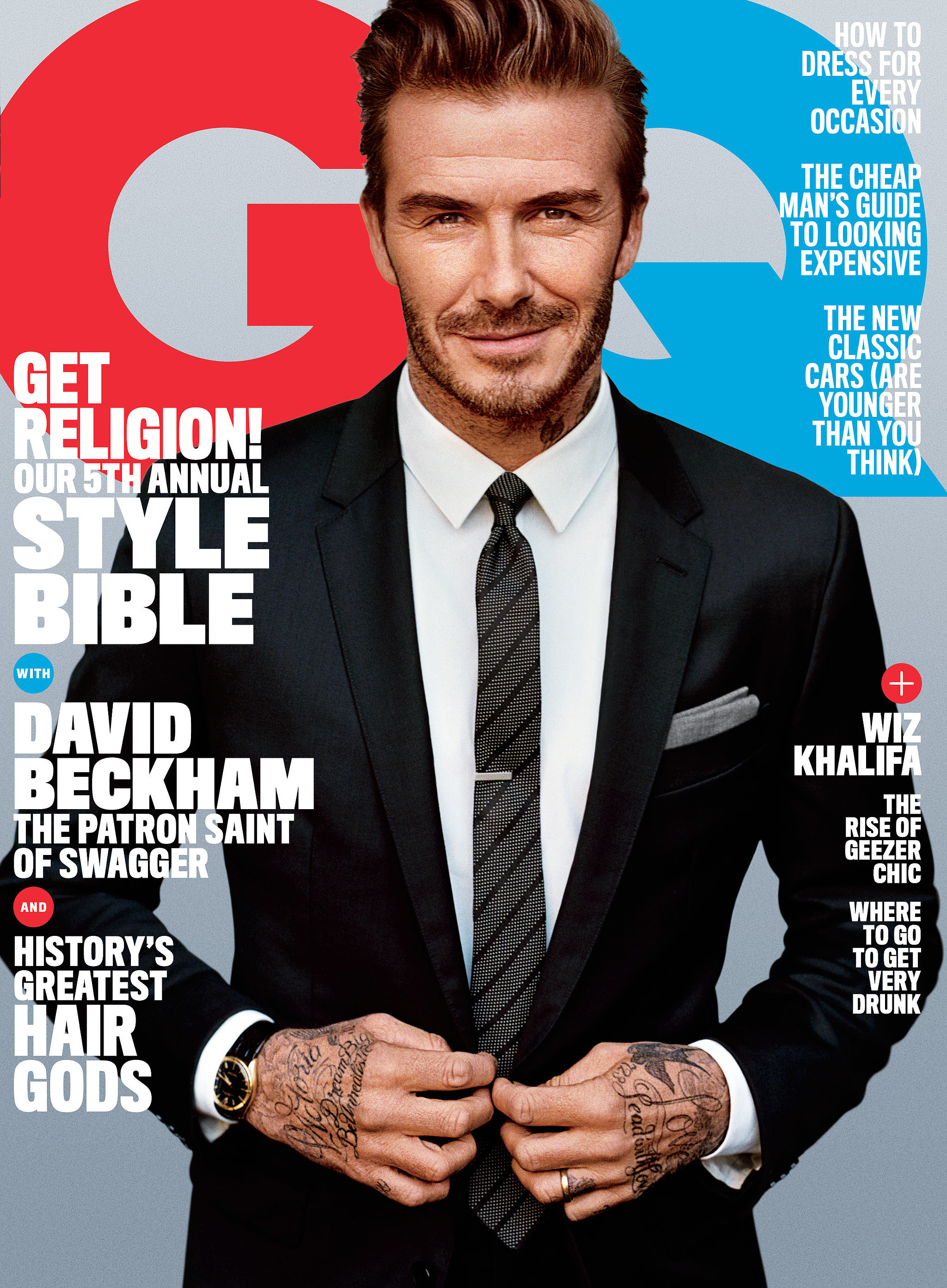 Gq Magazine The Secrets Of R Kelly: David Beckham In GQ Magazine April 2016