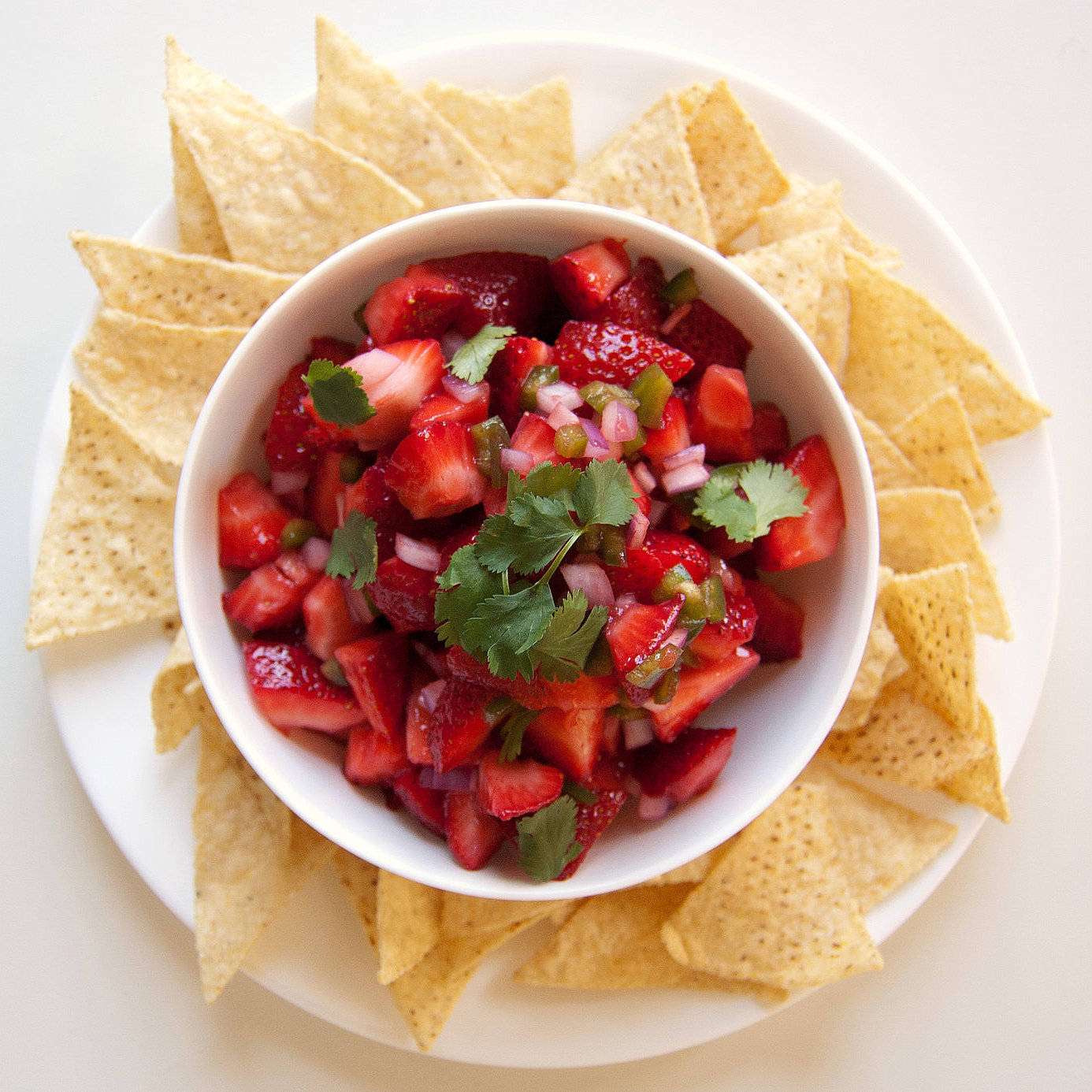 Popsugar Food: Strawberry Salsa Recipe