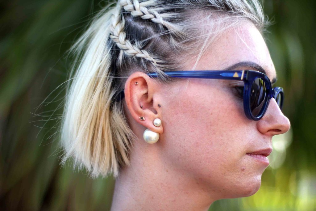 Coachella Festival beauty hair looks