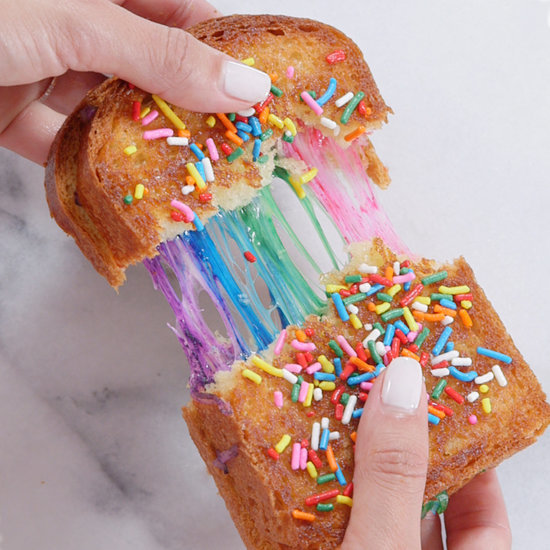 Rainbow Grilled Cheese Recipe
