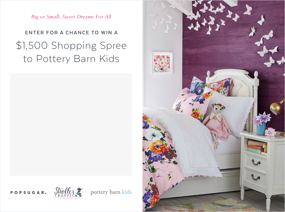 $1,500 to Pottery Barn Kids