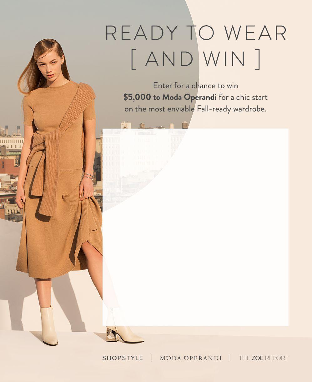 Moda Operandi $5,000 Sweepstakes
