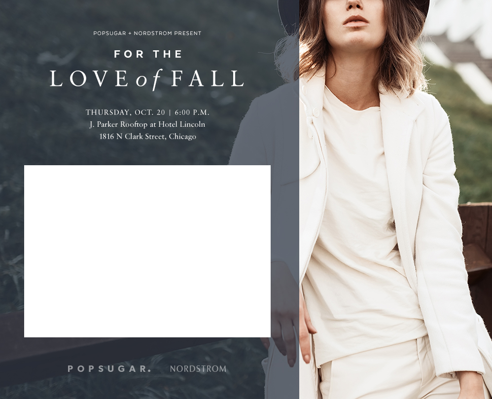 FOR THE LOVE OF FALL NORDSTROM X POPSUGAR