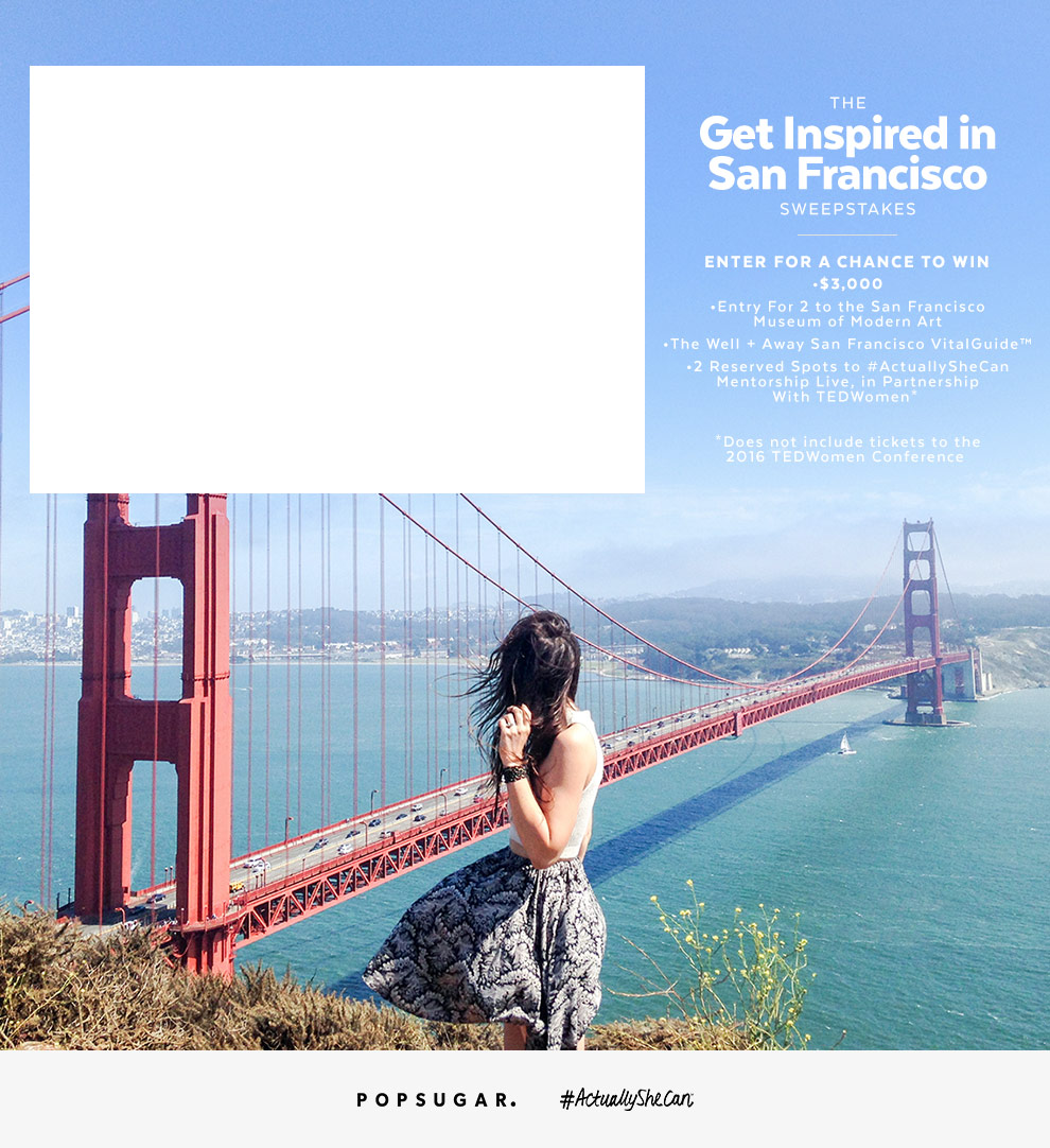 The Get Inspired in San Francisco Sweepstakes