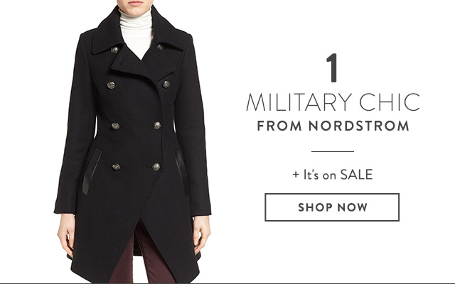 Military Coats from Nordstrom