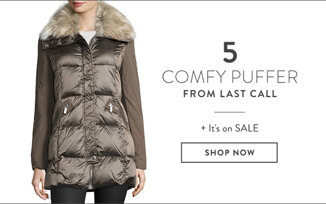 Puffer Jackets from Last Call