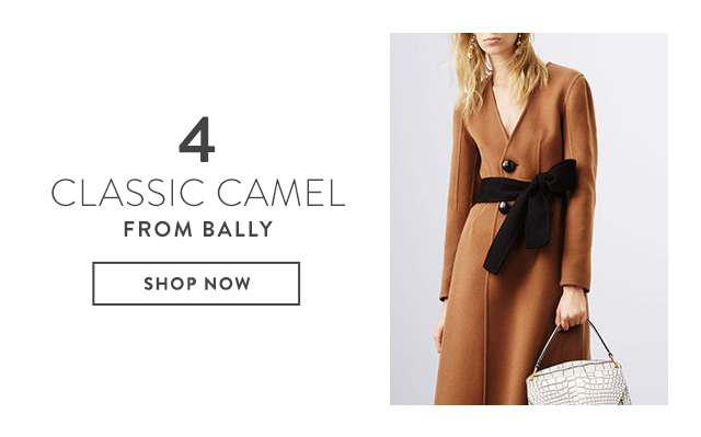 Classic Camel Coats from Bally