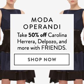 Take 50% off at Moda Operandi