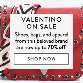 Find Valentino for 70% off on ShopStyle.