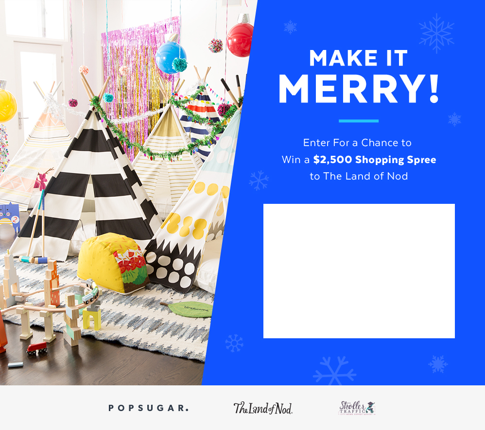 Win a $2,500 Shopping Spree to The Land of Nod