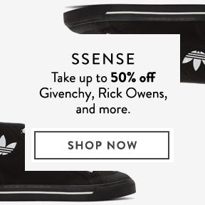 Take up to 50% Off at SSENSE