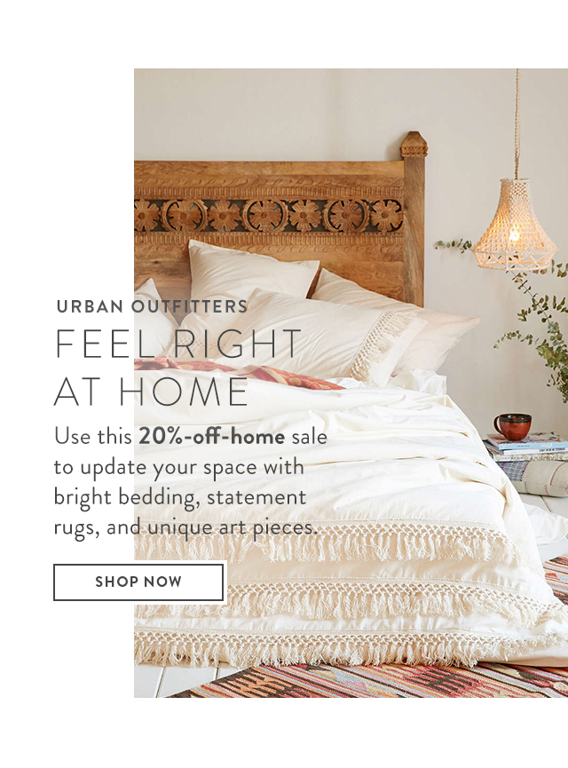 Urban Outfitters - feel right at home