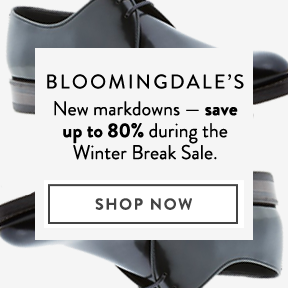 Bloomingdale's — take up to 80% off.