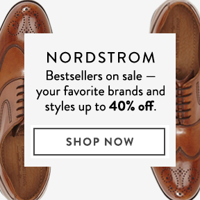 Nordstrom — men's favorites on sale.