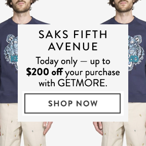 Saks Fifth Avenue — up to off.