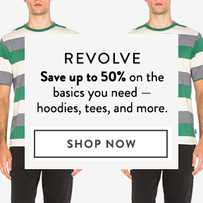Revolve — up to 50% off.