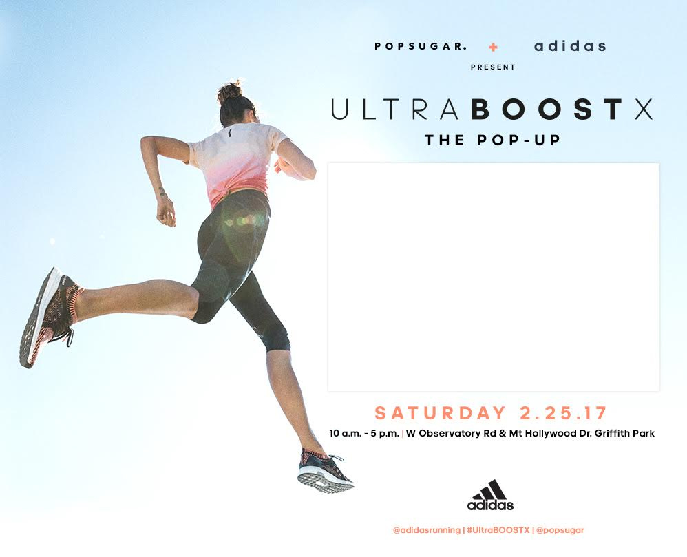 POPSUGAR x adidas Present UltraBOOST X The Pop-Up