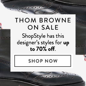 Find Thom Browne for up to 70% off.