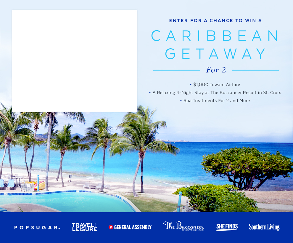 Enter For a Chance to Win a Caribbean Getaway For 2