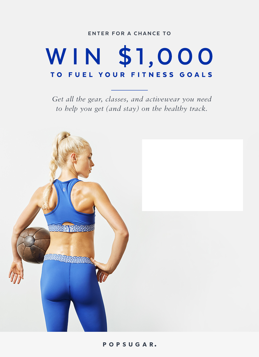 $1,000 Fitness Giveaway