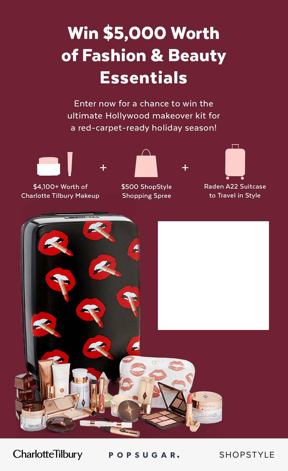 Win Charlotte Tilbury's Line, a Shopping Spree, and More