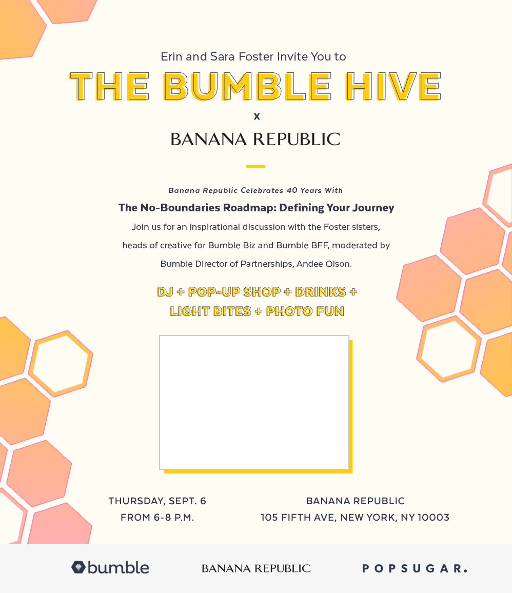 The Bumble Hive x Banana Republic NYC Event