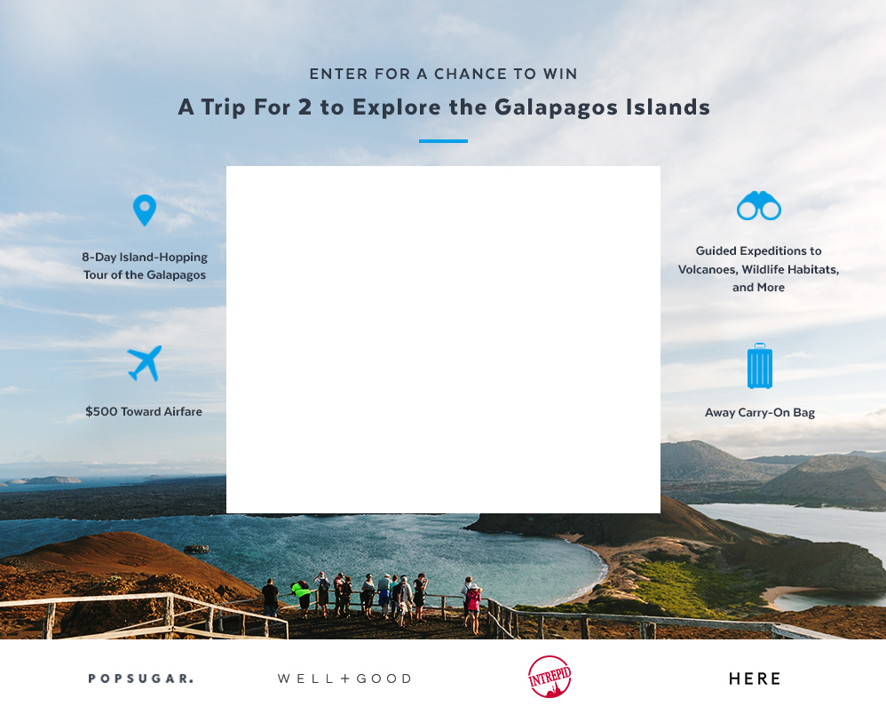 Galapagos Islands Giveaway