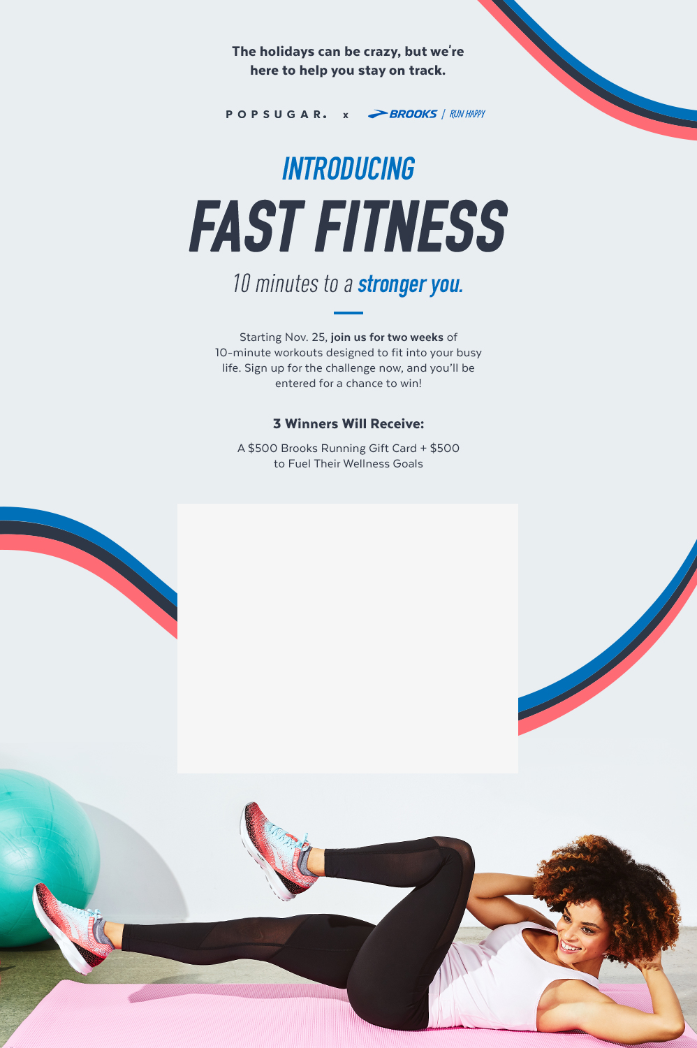 Win $1,000 In Fitness Prizes From Brooks and POPSUGAR!
