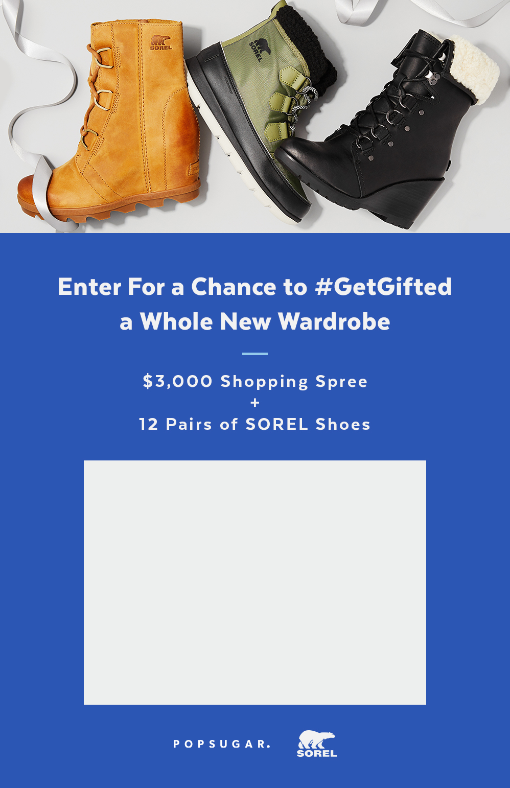 Sorel Boot Giveaway Popsugar Fashion Plan Your Shopping Spree
