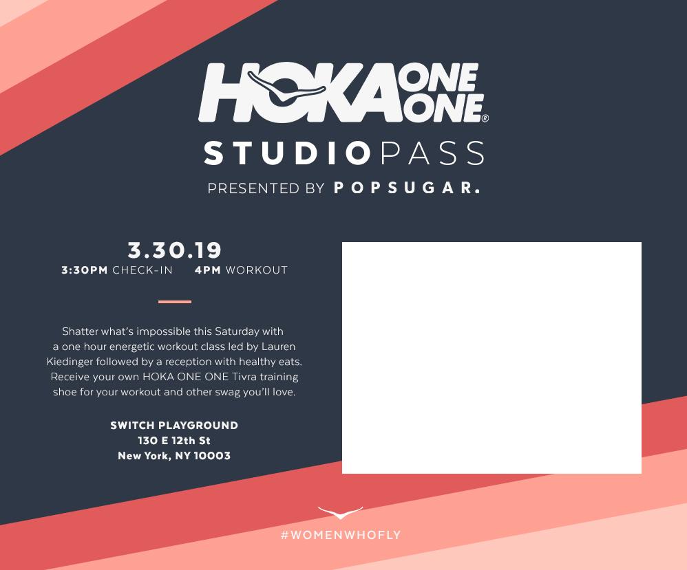 HOKA ONE ONE Studio Pass