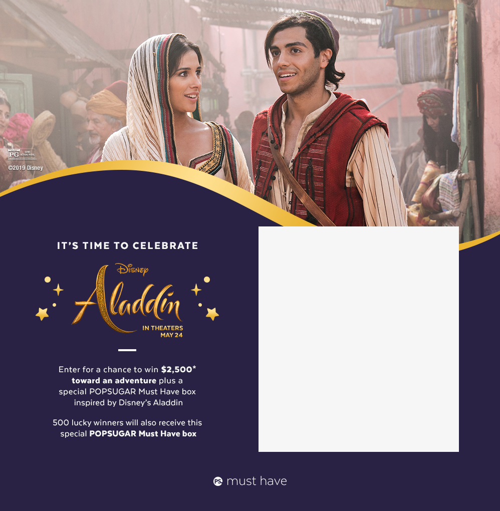 Win a Special POPSUGAR Must Have Box Inspired by Aladdin
