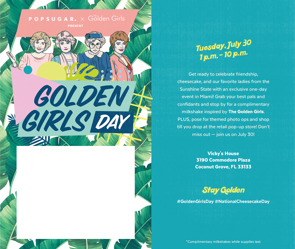 Golden Girls Day Event
