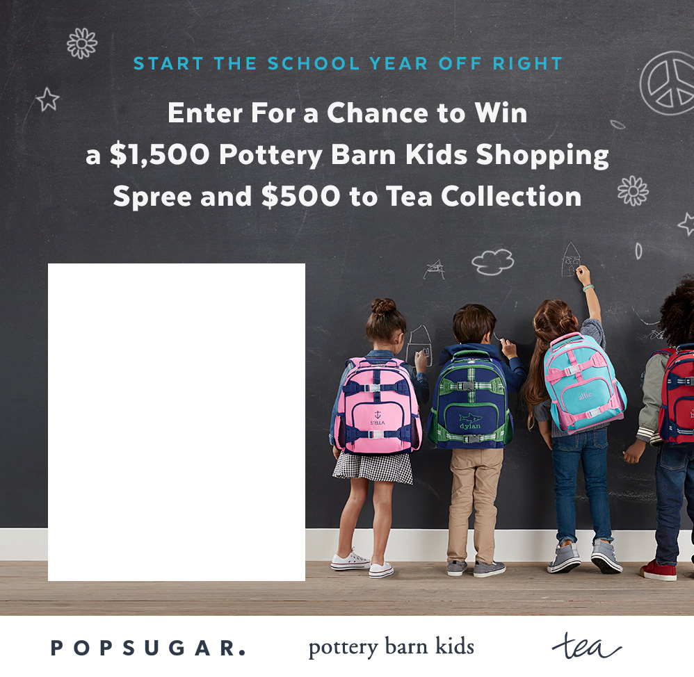 Enter For a Chance to Win a $1,500 to Pottery Barn Kids