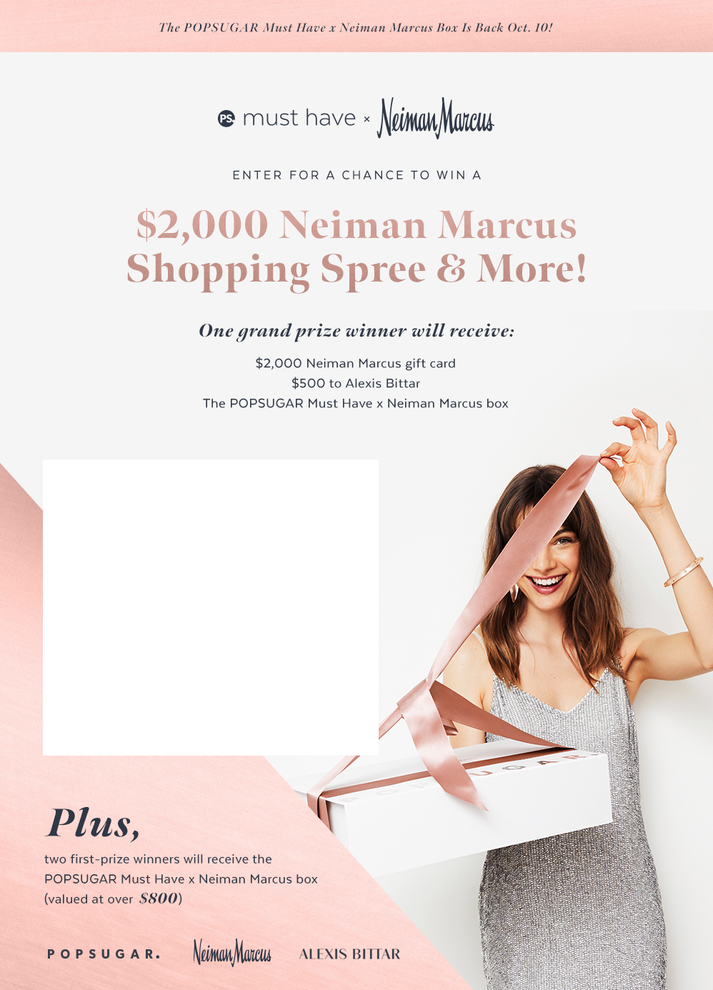 Enter For a Chance to Win a Neiman Marcus Shopping Spree