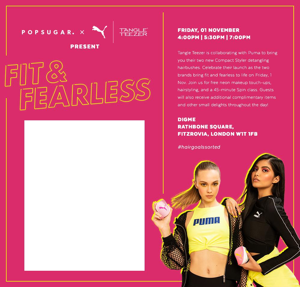 Fit & Fearless: POPSUGAR x Tangle Teezer x Puma