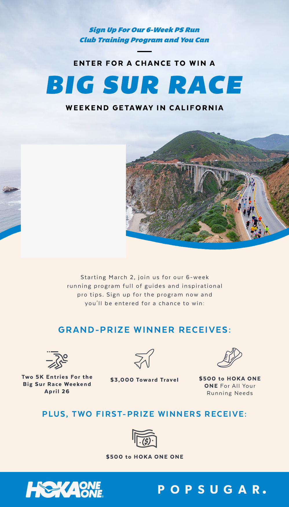 Enter For a Chance to Win a Big Sur Race Weekend Getaway