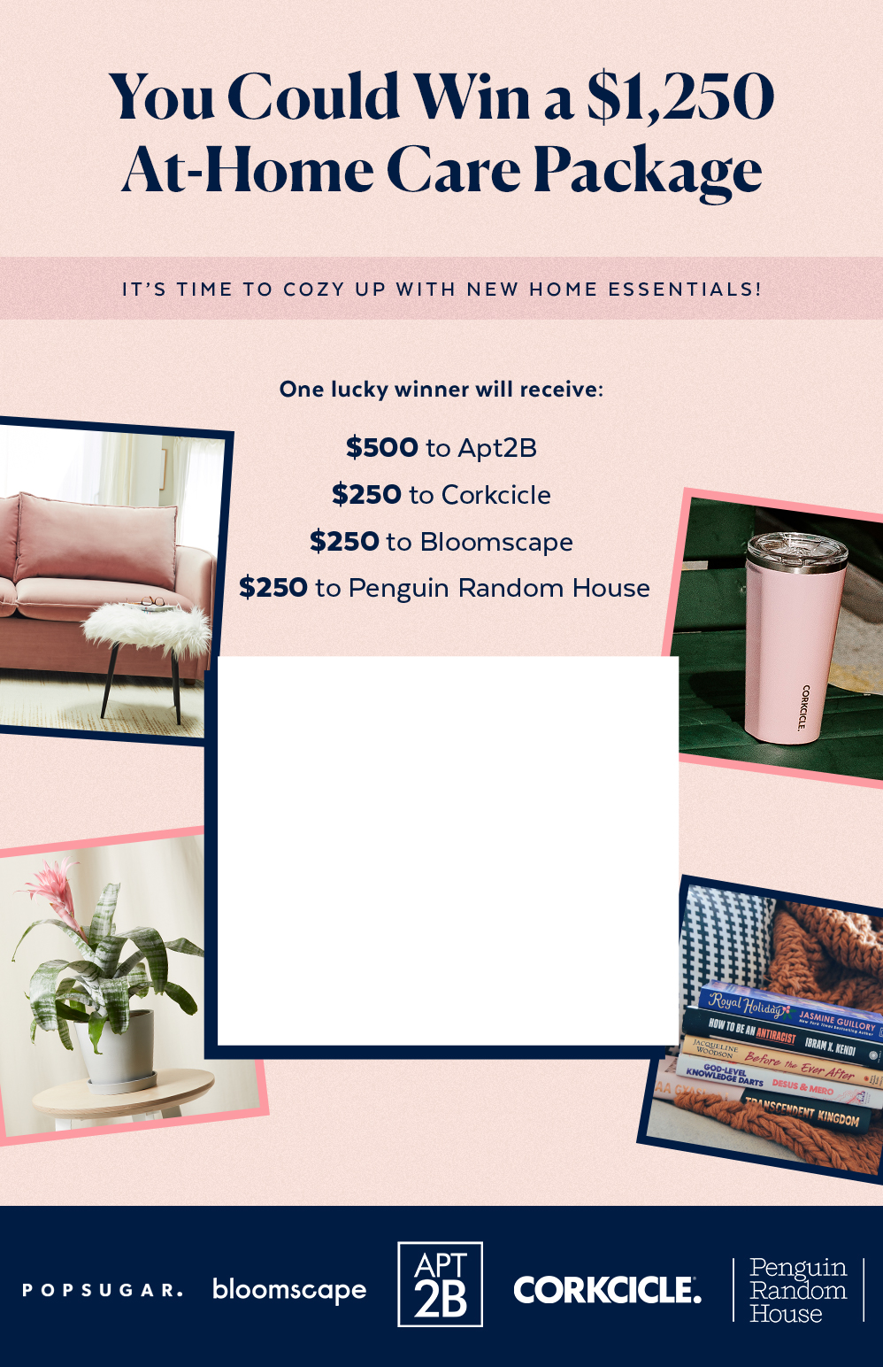 You Could Win a $1,250 At-Home Care Package