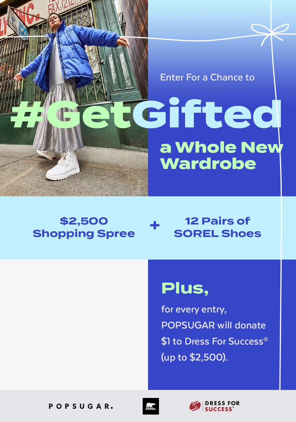 POPSUGAR x SOREL #GetGifted Giveaway 2020