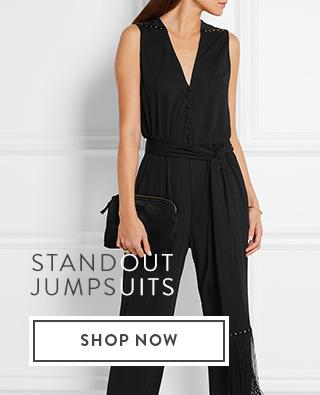 Shop jumpsuits.