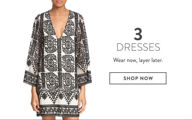 Dresses on sale at Nordstrom.