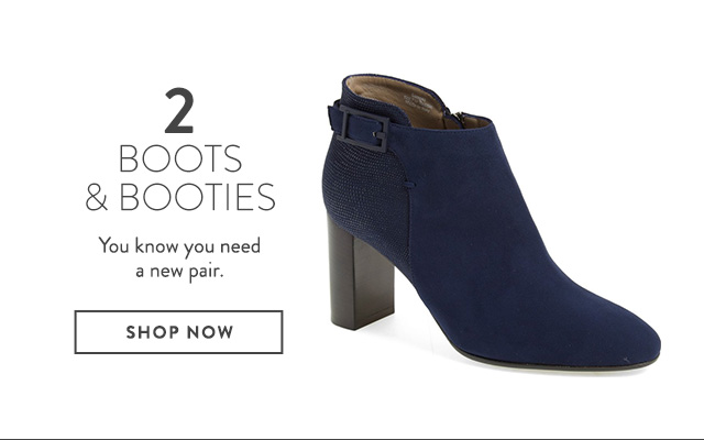 Booties on sale at Nordstrom.