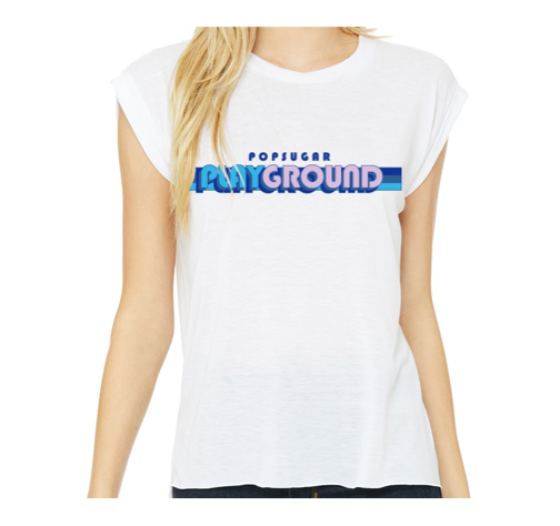 POPSUGAR Play/Ground Muscle Tee