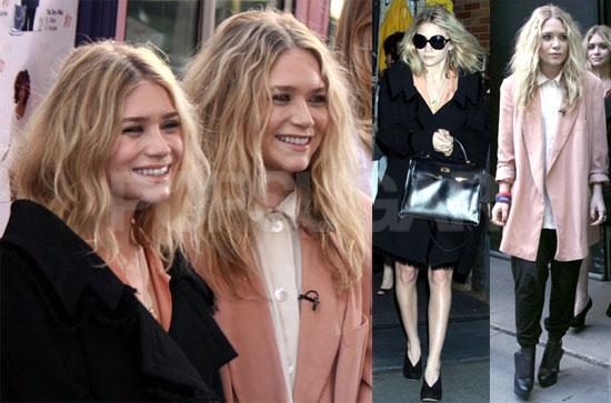 Photos Of Mary Kate And Ashley Olsen Promoting Olsenboye