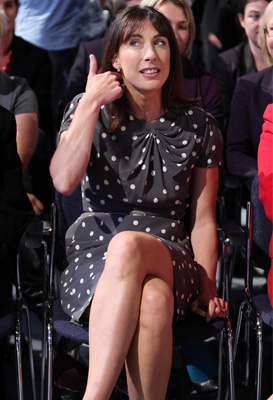 the truth about samantha cameron s marks and spencer dress