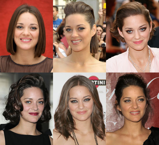 Pictures Of Marion Cotillard S Hairstyles Popsugar Beauty