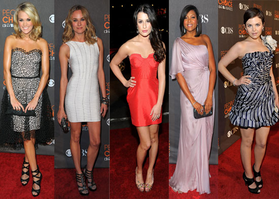 Best Dressed at 2010 People's Choice Awards 2010-01-06 19 ...