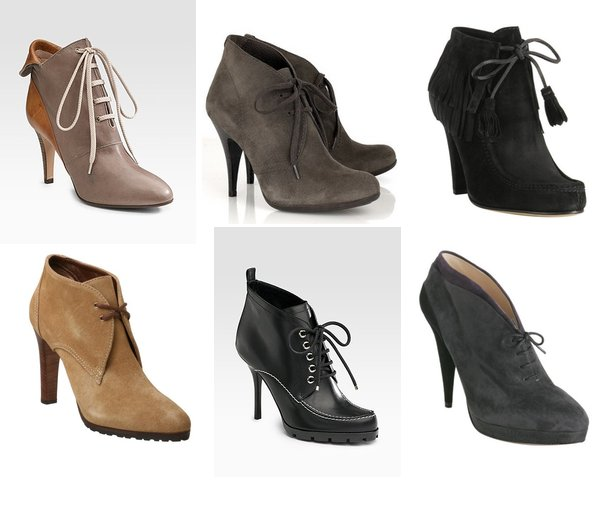 Tie Up Ankle Boots - Cr Boot