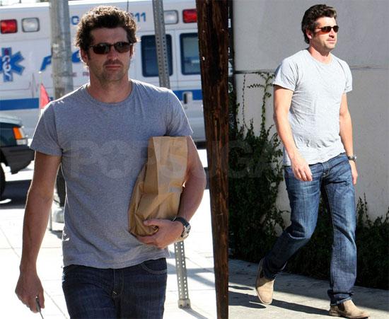 Photos Of Patrick Dempsey Running Errands In La Popsugar Celebrity